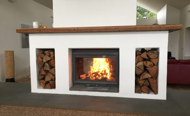 Chazelles Cdf800l Double Sided Wood Fireplace Perth Home